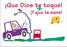 "Load image into Gallery viewer, Postales ""¡Que Dios te sane"" Youth Greeting Cards"