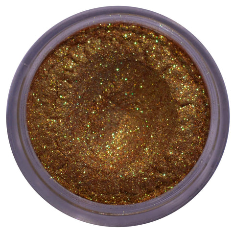 gold antique gold loose eyeshadow pigment loose pigment glitter eyeshadow toffee cosmetics bronze foiled pigments loose glitter