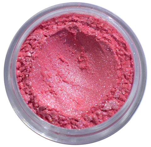 pink loose pigment pink eyeshadow pink glitter eyeshadow toffee cosmetics pigments
