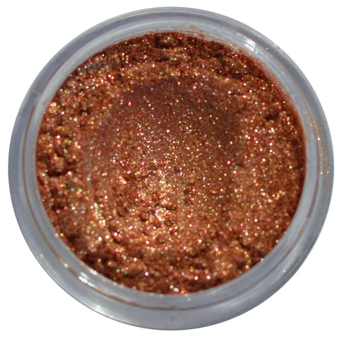 bronze loose eyeshadow pigment loose pigment glitter eyeshadow toffee cosmetics bronze foiled pigments loose glitter