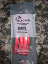 Load image into Gallery viewer, 10/30 AR-15 223/556 CPD DURA Magazine Red