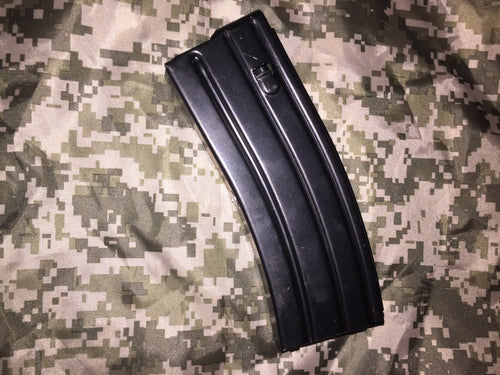 10/30 Colt 223/556 Steel Magazine Black
