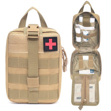 Load image into Gallery viewer, Molle Medical Utility Pouch  Coyote Tan
