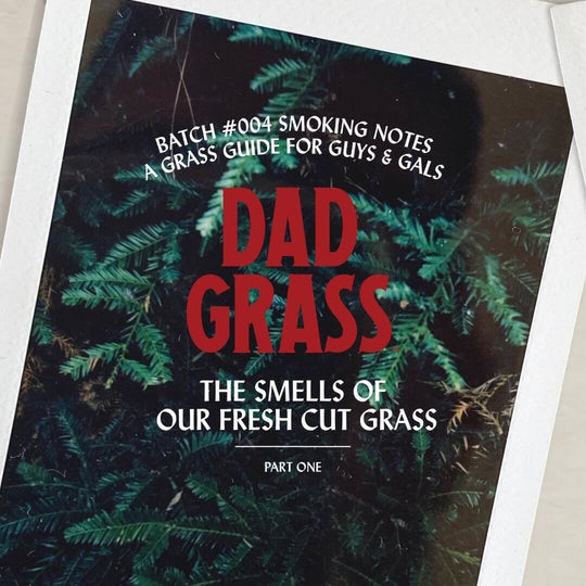 What Does Dad Grass Smell Like?