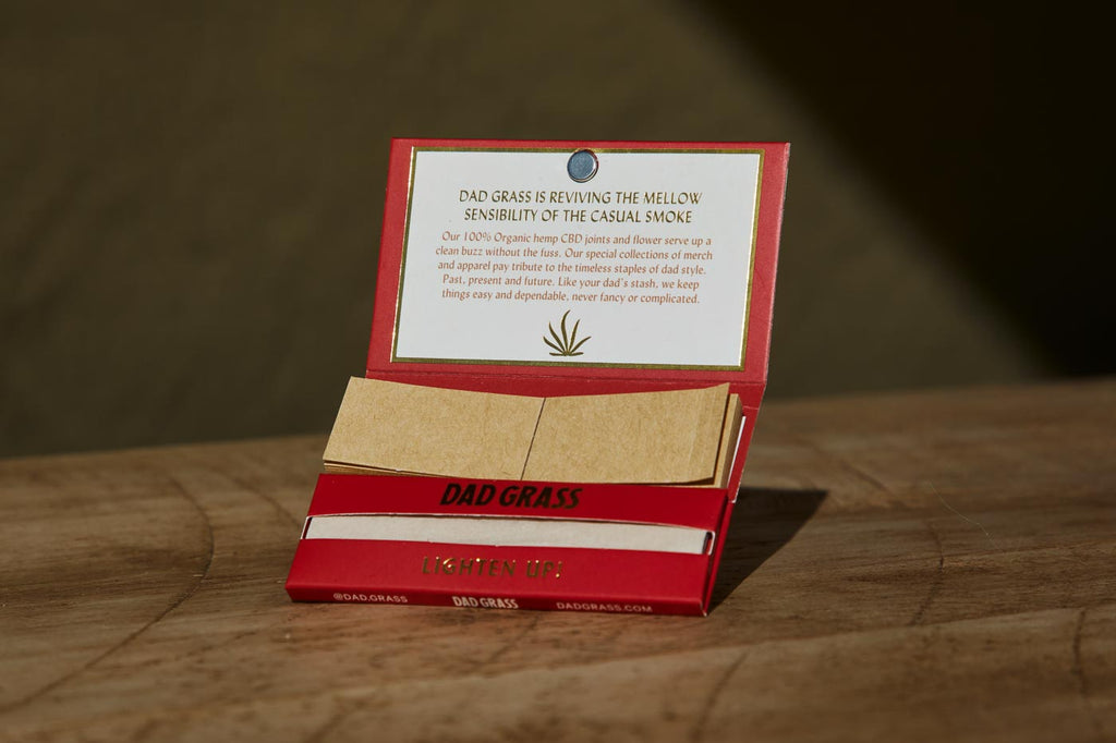 Dad Grass Rolling Papers Hemp