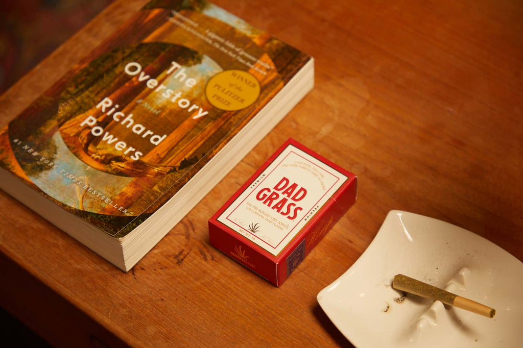 The Overstory By Richard Power and Dad Grass 10 pack CBD Joints