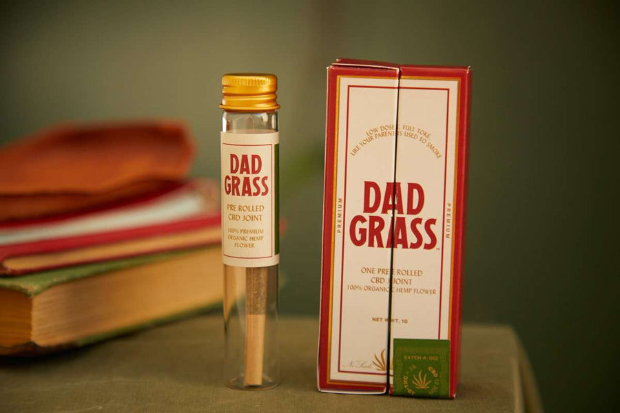 Dad Grass Pre Rolled Hemp CBD Classic Joint