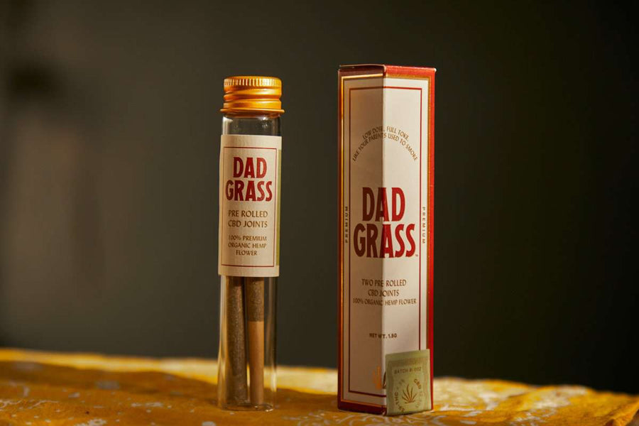 Dad Grass Pre Rolled Hemp CBD Twoobie™