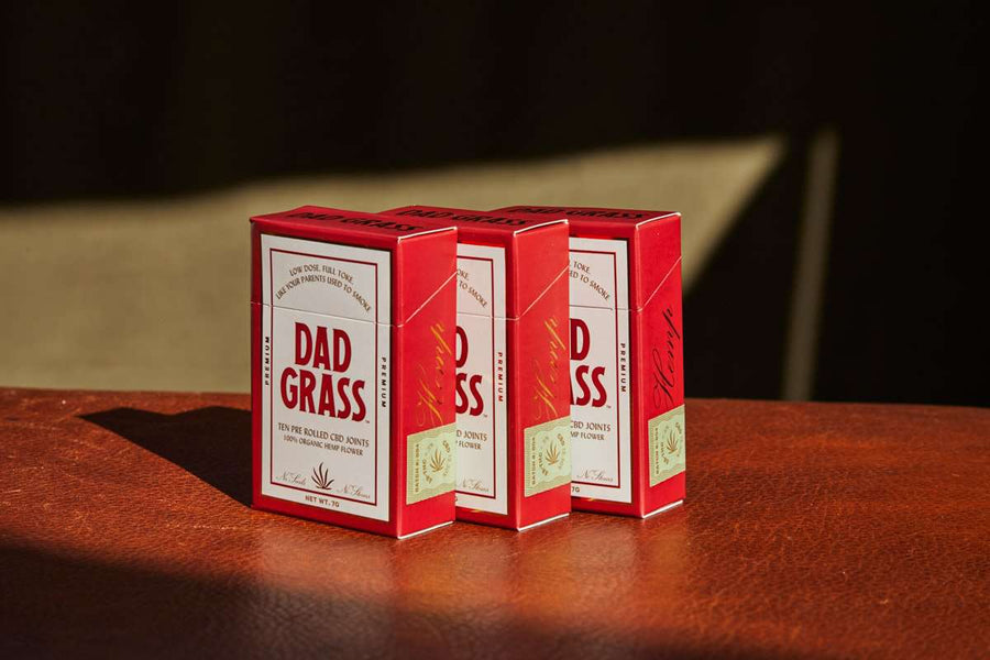 Dad Grass Hemp CBD Preroll 10 Pack