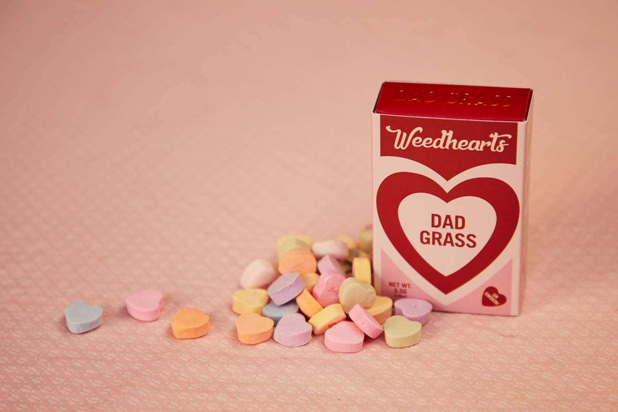 Weedhearts 5 Pack Dad Stash