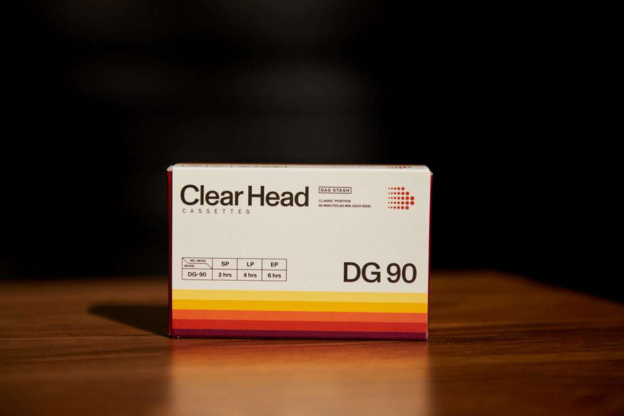 Clear Head Cassettes 5 Pack Dad Stash