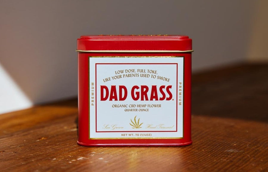 DG Motor Oil Flower Dad Stash