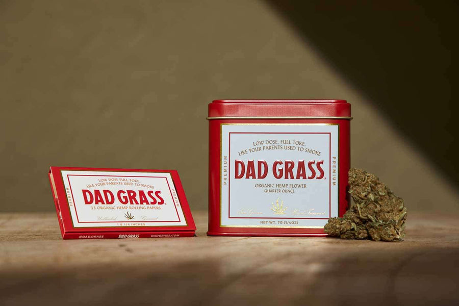 Dad Grass Hemp Flower Quarter Ounce
