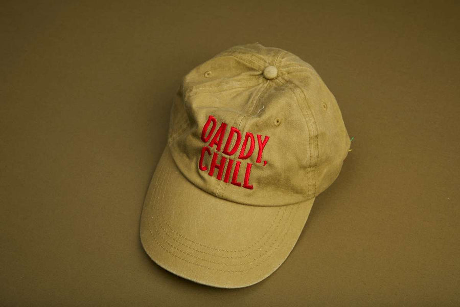 Limited Edition 'Daddy, Chill' Classic Dad Hat