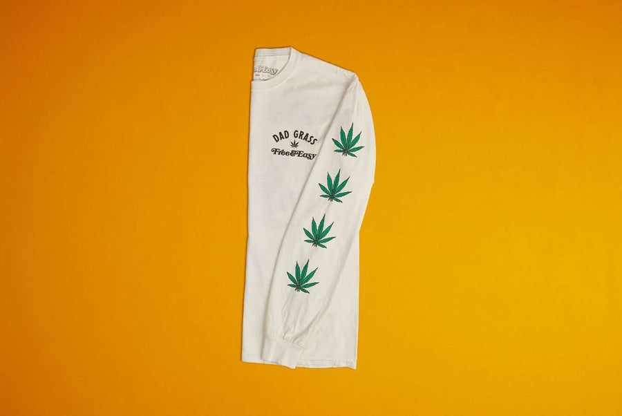 Dad Grass x Free & Easy Unisex LS Tee