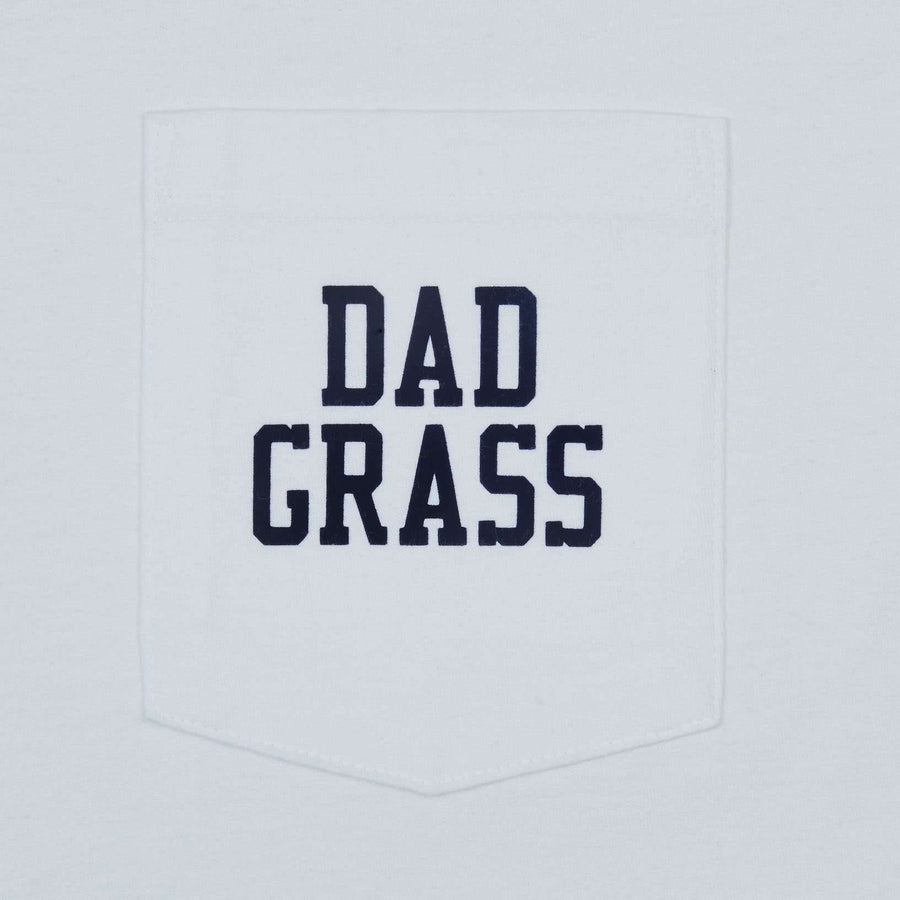 Dad Grass x Mark McNairy White Pocket Tee - White