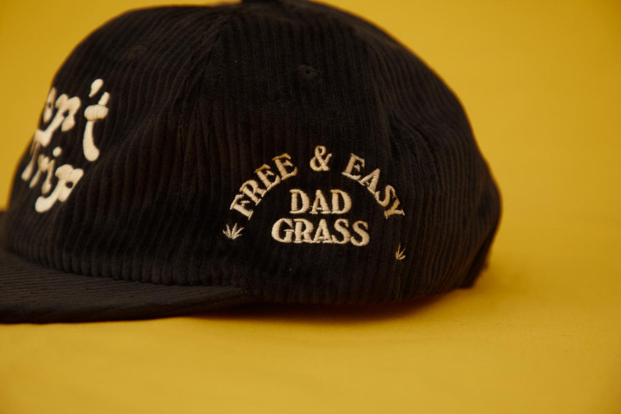 Dad Grass x Free & Easy 'Don't Trip' Corduroy Hat
