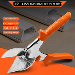 Multi purpose Angle Miter Shears Scissors