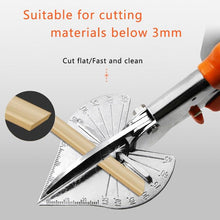 Load image into Gallery viewer, Multi purpose Angle Miter Shears Scissors