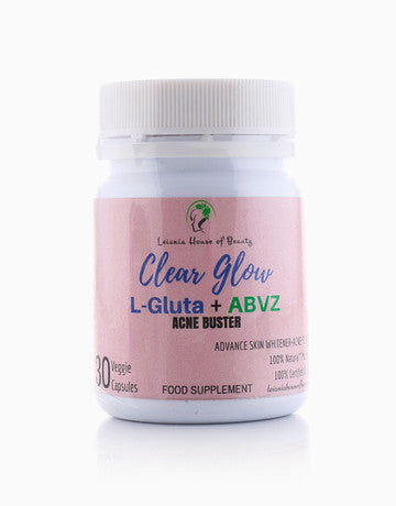 Clear Glow (L-Gluathione + ABVZ) Acne Buster Supplement