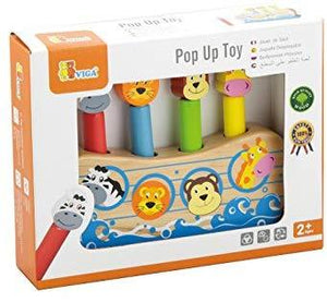 Noah's Ark pop up fine motor baby toddler wooden toy