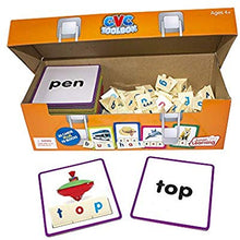 CVC Tool box word building educational resource - Primary and preschool