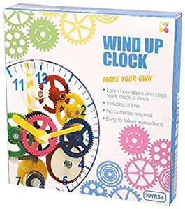 Make your own wind up clock