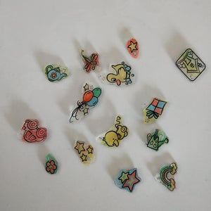 Shrink Art kit - Make your own shrink jewelry or bag tags  craft kit