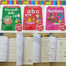 Learning work book - Age 3-6 years ABC Numbers Addition
