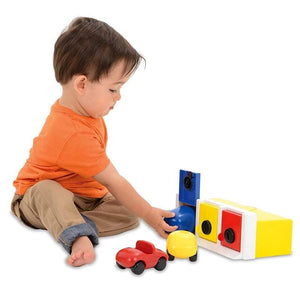 Lock up Garage - Ambi toys Toddler lock and car toy