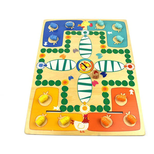 2 in 1 Large double sided Wooden game