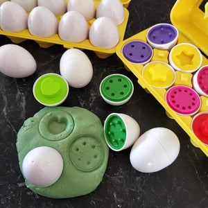 Count and sort eggs
