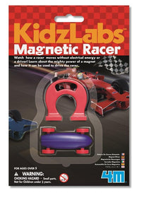 Magnetic racing cars