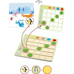 logic game for children preschool and primary school