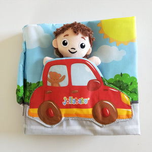 Little driver - Soft activity Book for babies and toddlers