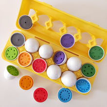 Children's Count and sort egg matching toy