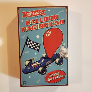 Retro balloon car