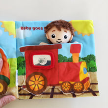 Transportation Little driver - Soft activity Book for babies and toddlers