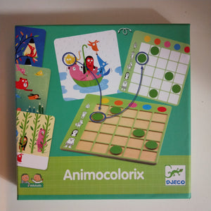 Animocolorix logic game - Djeco