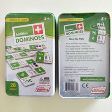 Addition Domino game learning educational games for primary school children