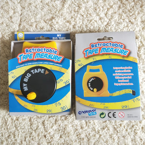 Children's large retractable tape measure