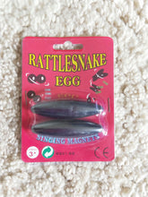 Rattle snake egg toy