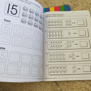 Learning work book - Age 3-6 years ABC Numbers Addition Primary ad Preschool