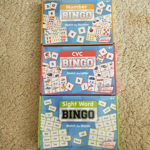 CVC Bingo is a picture matching game for teaching consonant vowel consonant patterns