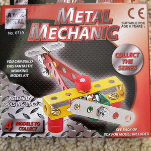 Metal Mechanic model plane kit