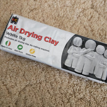1kg Air drying white clay