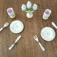 Wooden princess dinner set - Djeco