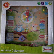 Wooden Owl themed Calendar