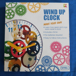 wind up clock building kit for kids