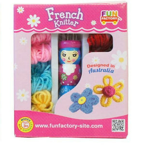 French Knitting Wooden doll set